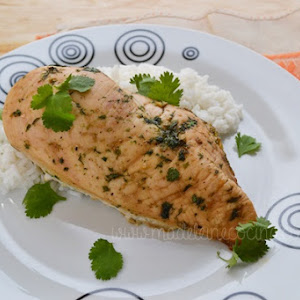 Honey and Coriander Chicken