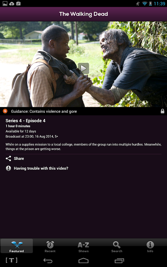 Demand 5 - screenshot