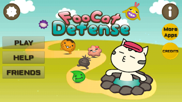 Screenshot of FooCat Defense