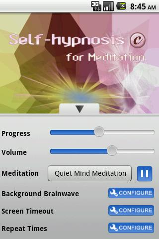 Self-Hypnosis for Meditation- screenshot