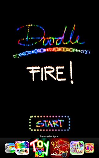 Doodle Fire ™ 描く 火災 輝く 炎 子供