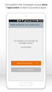 Messagerie vocale visuelle - screenshot thumbnail
