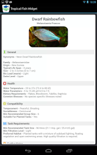 Tropical Fish Widget- screenshot thumbnail