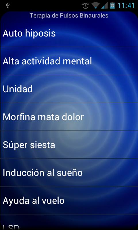 Terapia Ritmos Binaurales - screenshot