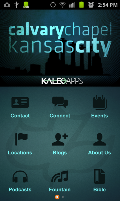 Calvary Chapel Kansas City- screenshot