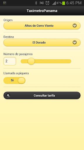 Taximetro Panama
