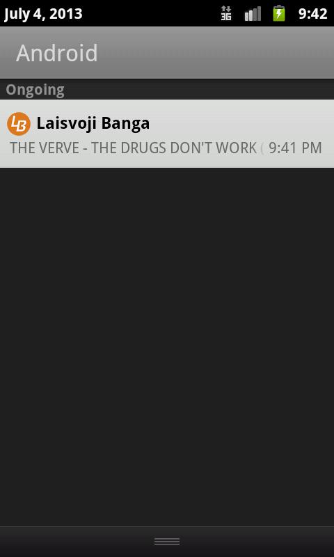Laisvoji Banga - screenshot