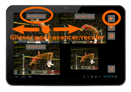 Video coach miroir diff r applications android sur for Miroir application android