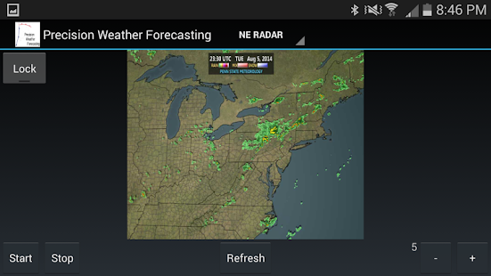 Precision Weather Forecasting- screenshot thumbnail