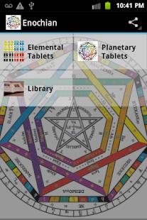 玩免費娛樂APP|下載Enochian Magic & Library app不用錢|硬是要APP