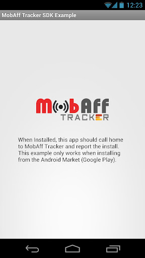 MobAff Tracker SDK Example