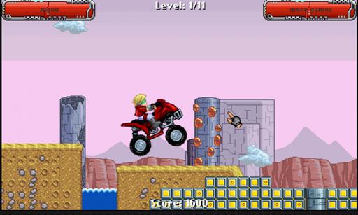 Space Rider - ATV hill climb