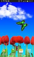 Screenshot of Tulips live wallpapers