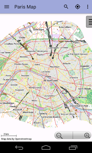 Paris Offline City Map Lite