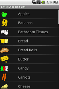 Little Shopping List - screenshot thumbnail
