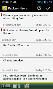Packers Live - news scores