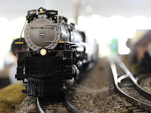 火車模型拼圖