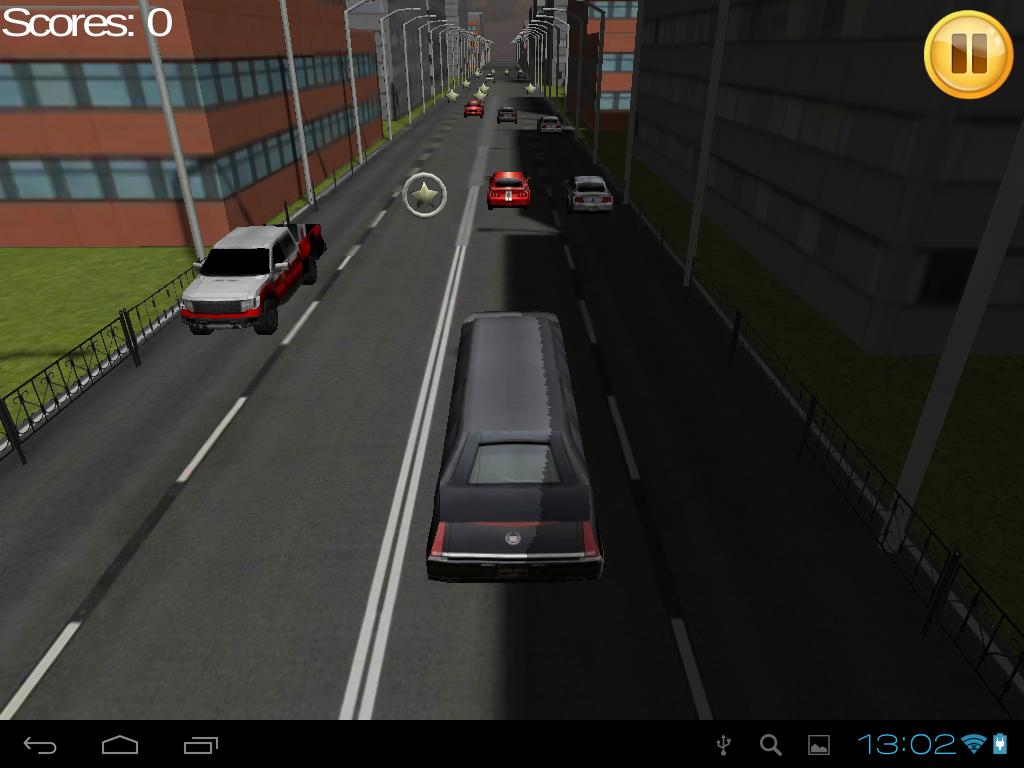 Limo Traffic Racing 3D TAB - screenshot
