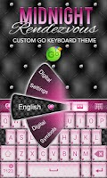 Screenshot of Elegant Pink Heart Keyboard ♥