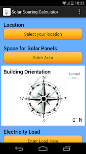 Solar soaring calculator- screenshot thumbnail