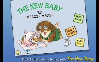 Screenshot of The New Baby - Little Critter