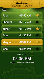 Waktu Solat & Qibla Direction- screenshot thumbnail