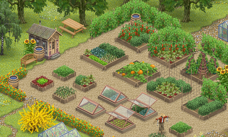 Inner garden vegetable garden android apps on google play for Vegetable garden layout app