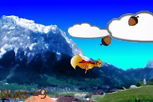 Screenshot of Angry Flying Squirrel vs Birds