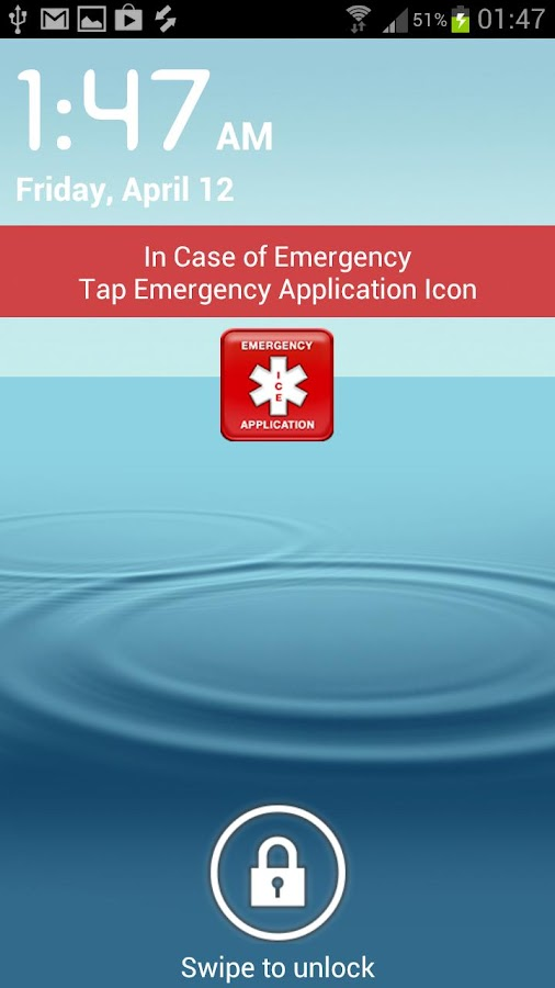In Case of Emergency ICE-Lite- screenshot