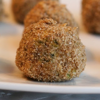 Speedy Sweet Potato Falafel Balls