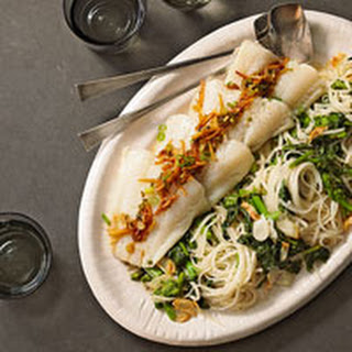 Gingery Fish and Noodles.