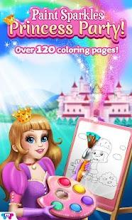 Paint Sparkles:Princess Party