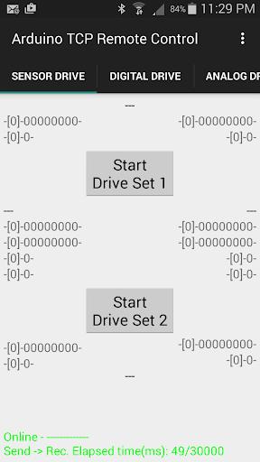 Arduino TCP Remote Control