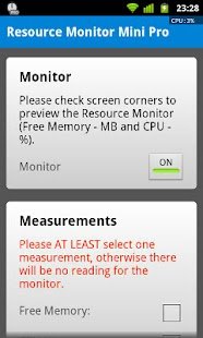 Resource Monitor Mini Pro - screenshot thumbnail