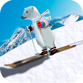 Polar Bear Slide 3D