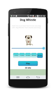 Dog whistle : Free- screenshot thumbnail