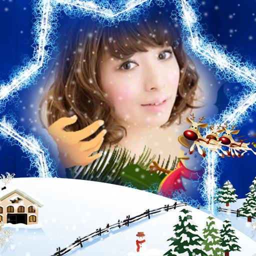 摄影のクリスマスフォトフレーム LOGO-記事Game