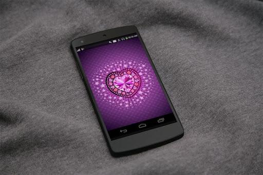 Diamond Heart 3D LiveWallpaper