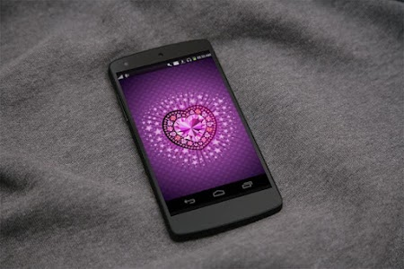 Diamond Heart 3D LiveWallpaper screenshot 0