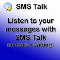 SMS message talk logo