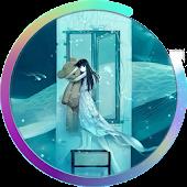 Solitude Girl Live Wallpaper