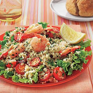 Shrimp Tabbouleh