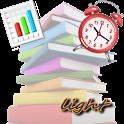 勉強時間管理light icon