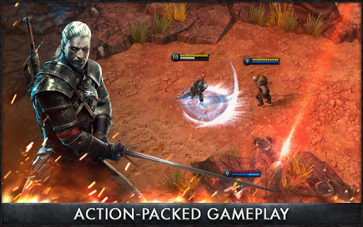The Witcher Battle Arena v1.1.1 APK+DATA (MOD)