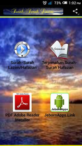 Surah-Surah Lazim Hafazan