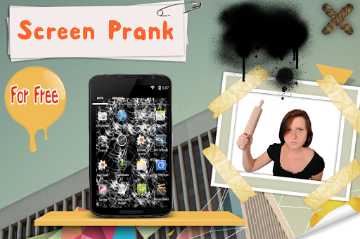 Screen Prank:Crack Your Screen