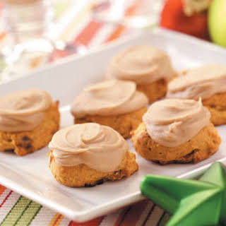 Frosted Pumpkin Cookies.
