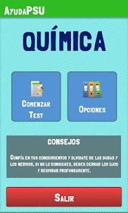 Ayuda PSU Química- screenshot thumbnail