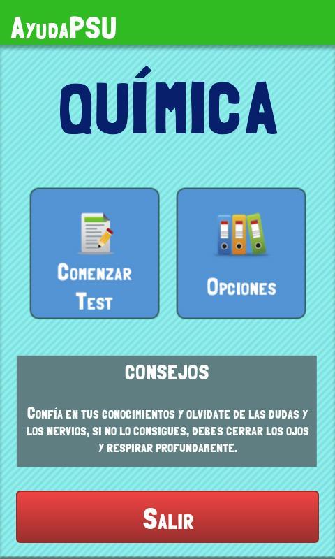 Ayuda PSU Química- screenshot