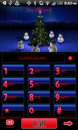 GO Contacts EX Christmas Theme